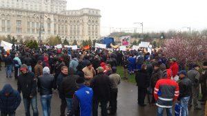 protest-fermieri-la-Palatul-Parlamentului